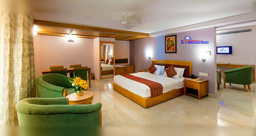 Come stay at the best hotels in Guruvayoor- Krishna Inn