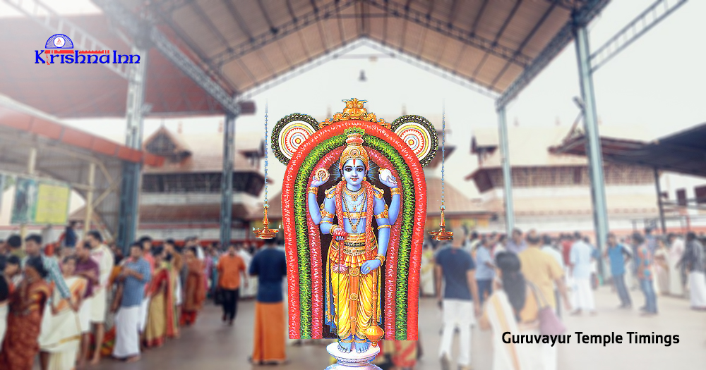 Updated pooja timings at Guruvayur temple
