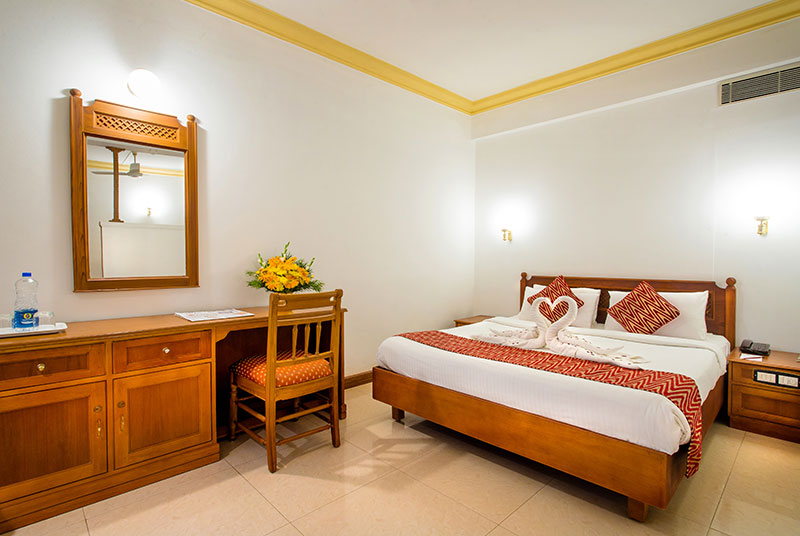 The rooms in Krishna INN