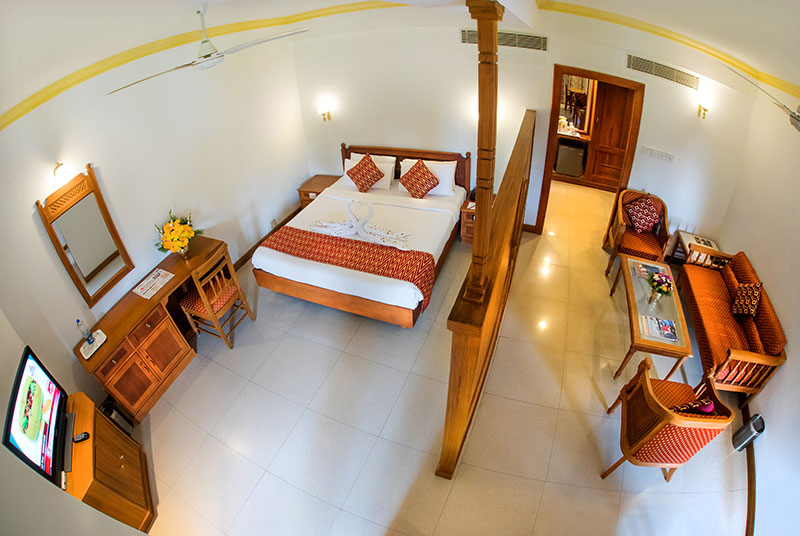 Top view of our rooms - Krishna INN