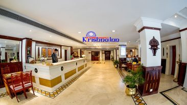 front view of Krishna INN- Guruvayur Hotels