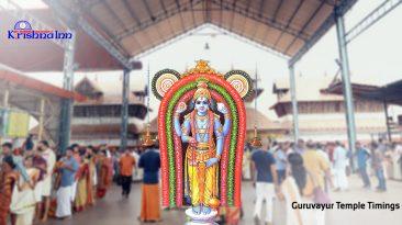 luxury hotels in guruvayoor- krishnainn (temple timings)