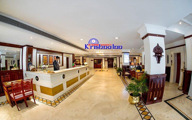 front view of Krishna INN- Guruvayur Hotels