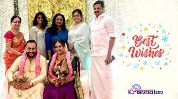 Krishna Inn- wedding halls in Guruvayoor wishes Sowbhagya Kalyan & Arjun Somasekhar