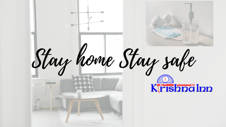 Stay home stay safe- KrishnaInn